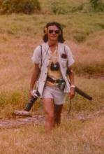 Dr. Dorothy Cheney in the field